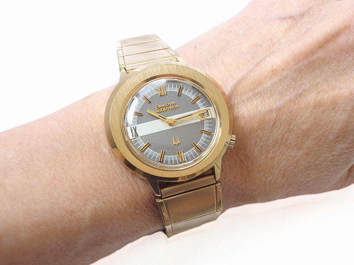Bulova Accutron Two-Tone Asymmetrical MCM Watch