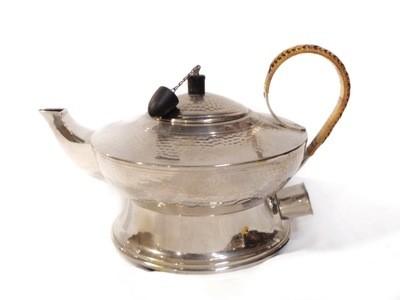 German Jugendstil Arts and Crafts Metal Electric Tea Pot