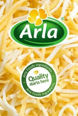 Arla Shreded Mozzarella and Cheddar Cheese 1kg