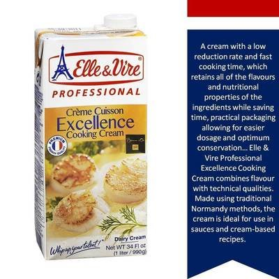 Elle & Vire Cooking Cream per 1lt
