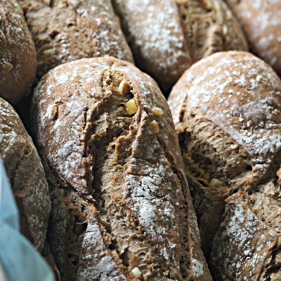 Rye and Lemon Bread