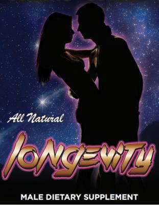 Longevity - All Natural Male Enhancement Supplement – Five Pack