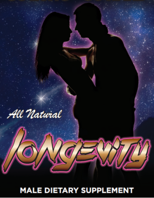 Longevity - All Natural Male Enhancement Supplement – Thirty Pack