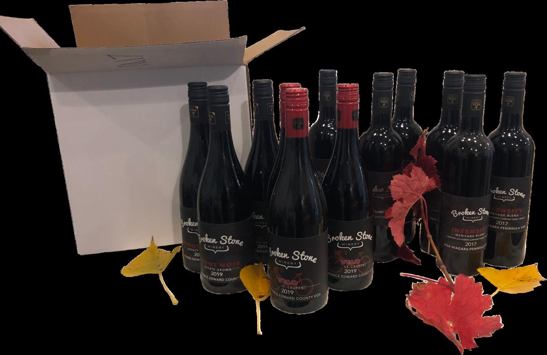 Warm Your Heart in Autumn Red Pack - Vintner's Dozen