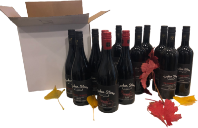 Warm Your Heart in Autumn Red Pack - Vintner's Dozen