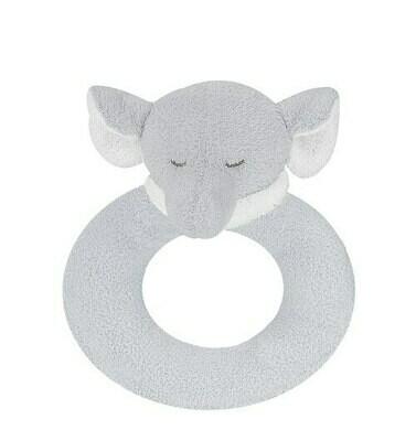 Angel Dear Elephant Ring Rattle