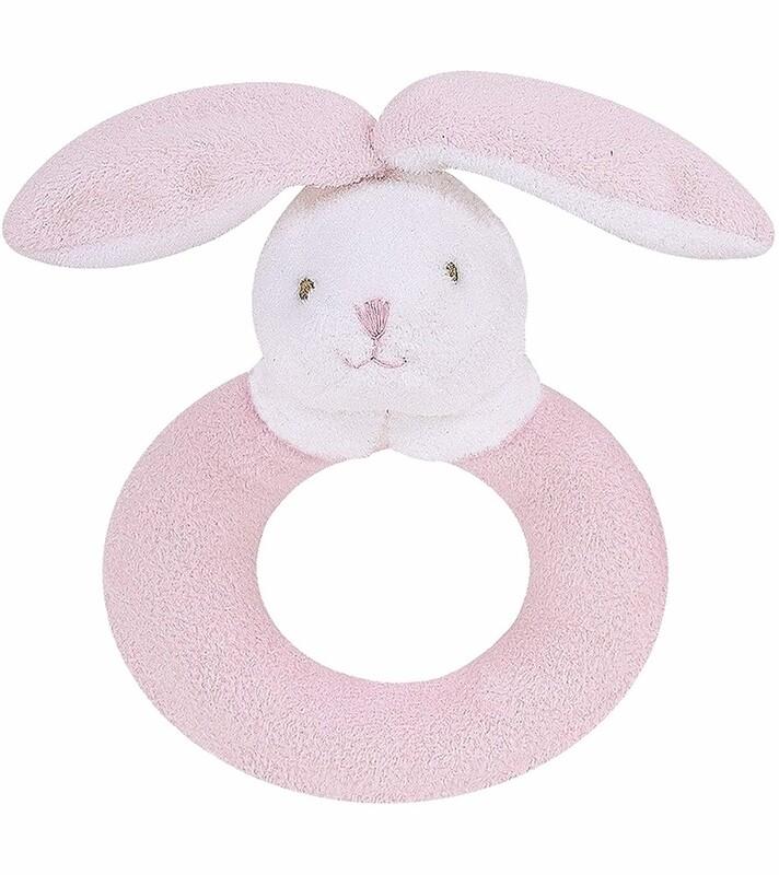 Angel Dear Bunny Ring Rattle