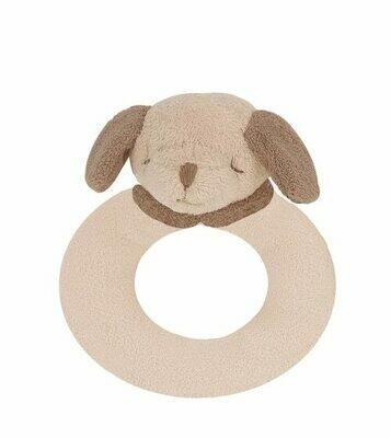 Angel Dear Puppy Ring Rattle