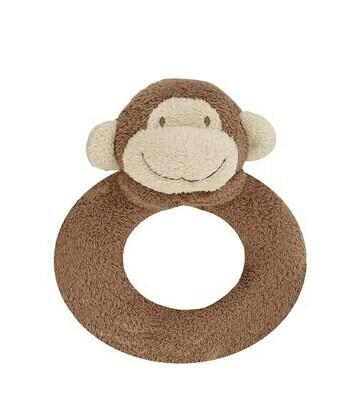 Angel Dear Monkey Ring Rattle