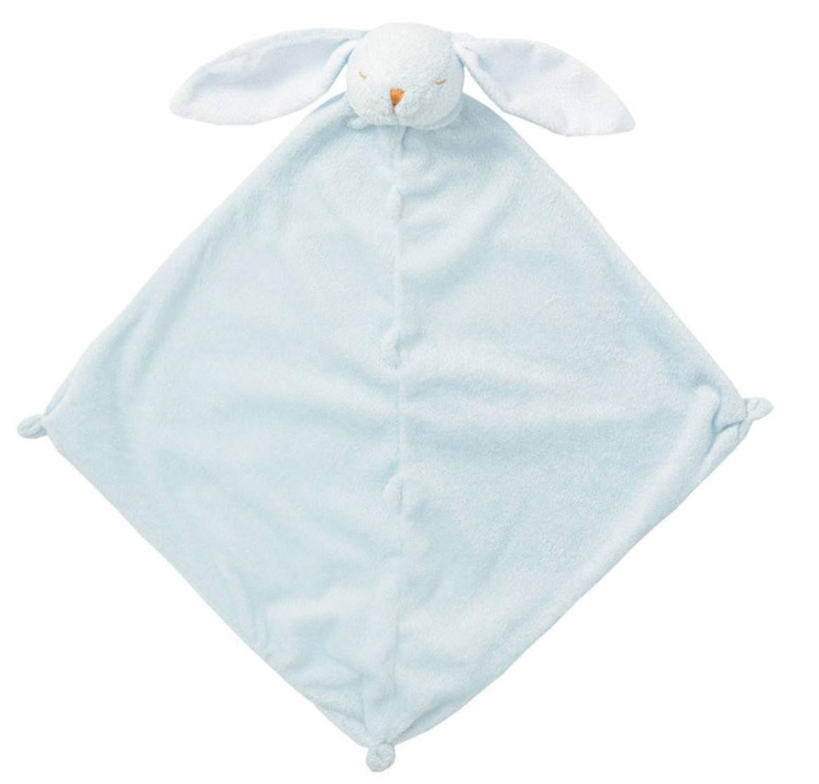 Angel Dear Bunny Lovie Blanket Blue