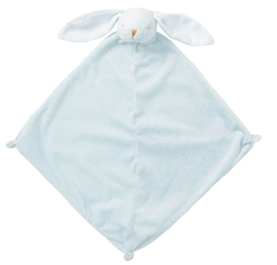 Angel Dear Bunny Lovie Blanket Blue