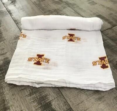 Iowa State Swaddle Blanket
