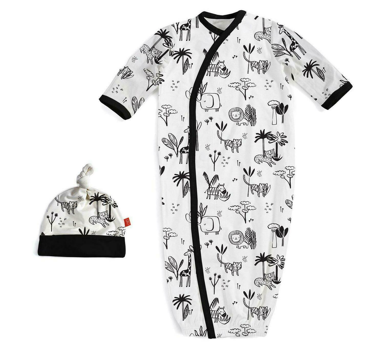 Magnetic Me Gown & Hat Animal Safari