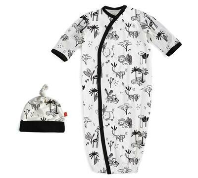 Magnetic Me Gown & Hat Animal Safari