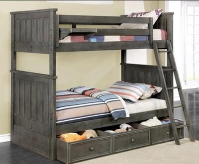 Jordan Twin/Twin Bunk Bed