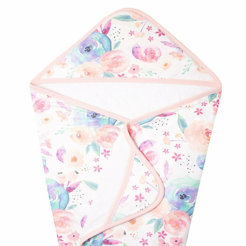 Copper Pearl Hooded Towel Bloom