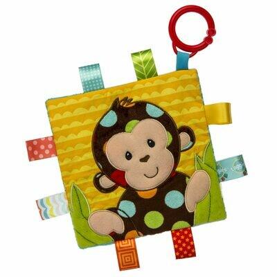 Taggies Crinkle Me Dazzle Dots Monkey