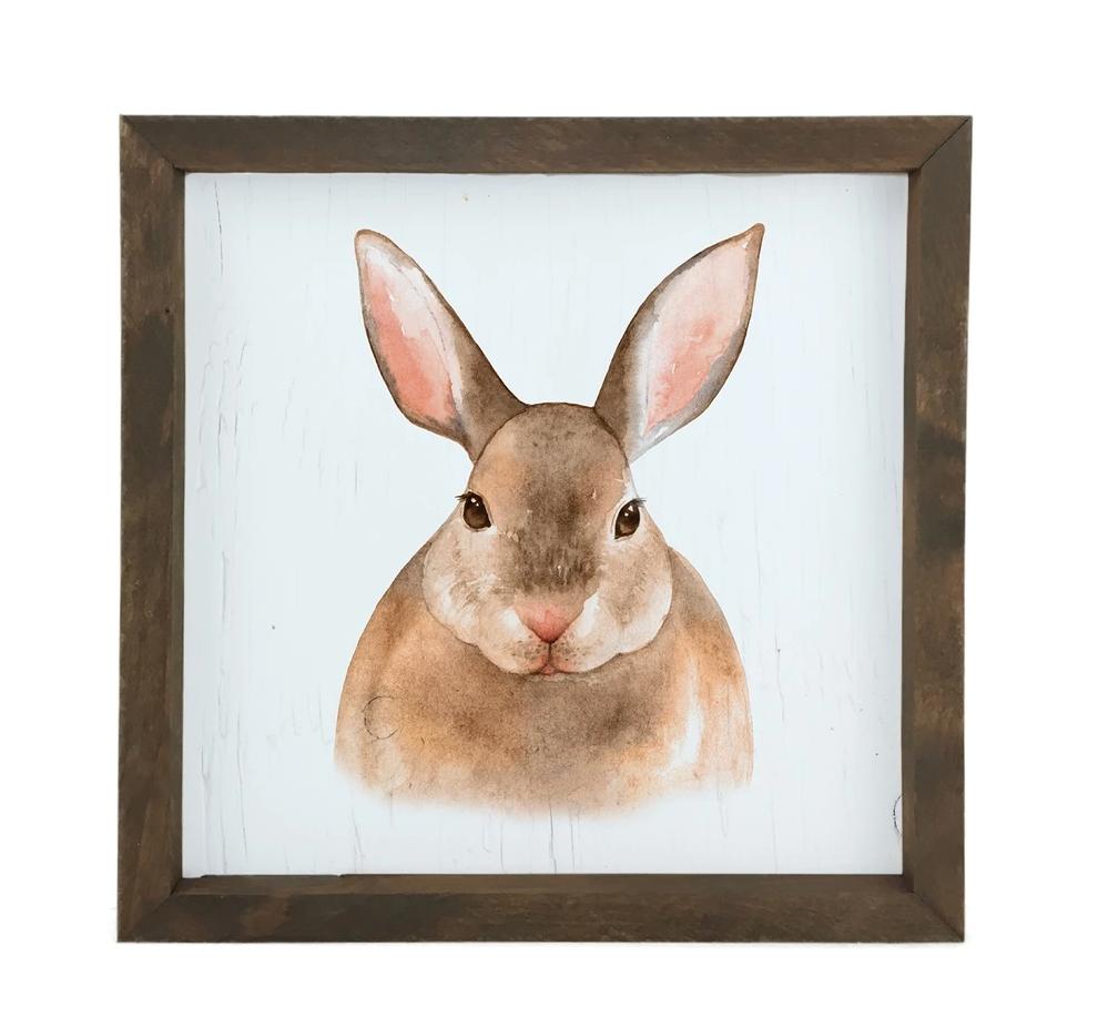 12 Timbers Woodland Wall Art - Bunny