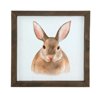 12 Timbers Woodland Wall Art - Bunny