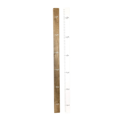 Twelve Timbers Wooden Growth Chart