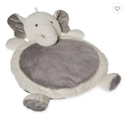 Mary Meyer Elephant Play Mat - Gray