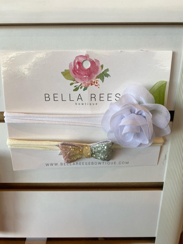 Bella Reese Headband - Sweet Blossom - pale pink