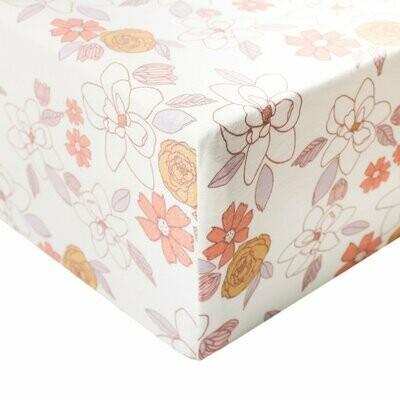 Copper Pearl Crib Sheet Ferra