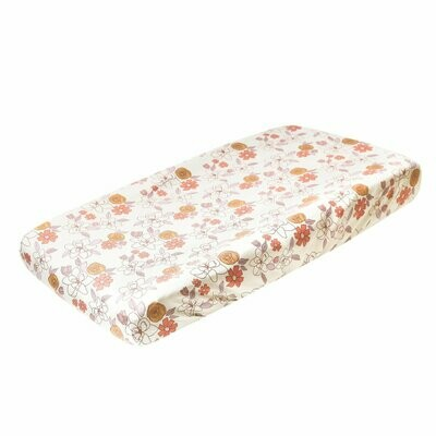 Copper Pearl Changing Pad Cover Ferra