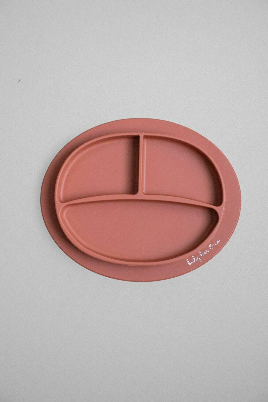 Baby Bar & Co Silicone Suction Plate Autumn Glaze