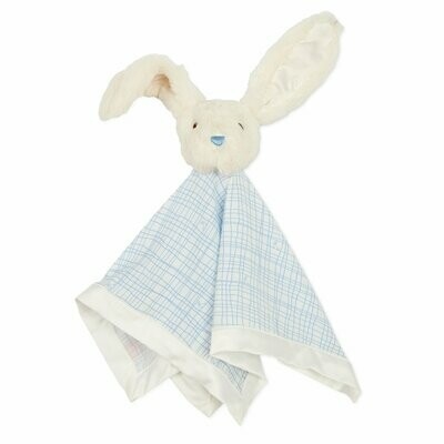 Magnetic Me Lovey Blanket Greenwich Plaid Bunny