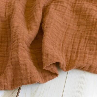 sugar + maple Muslin Swaddle Blanket Sienna