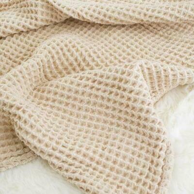 sugar + maple Honeycomb Blanket Sand