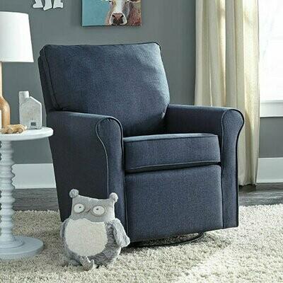 "Best Chair ""Kacey"" Swivel Glider Cobalt"