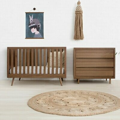 Nifty TImber Crib & Dresser Package