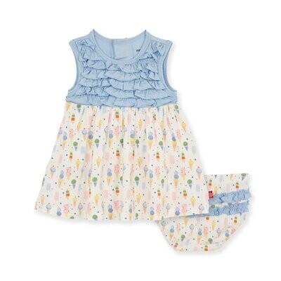 Magnetic Me Ice Ice Cream Baby Dress & Diaper Cover