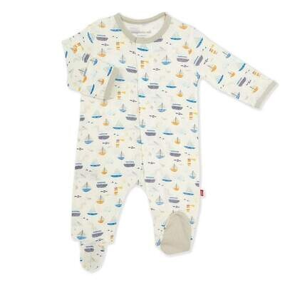 Magnetic Me Monterey Bay Footie - 3-6 months