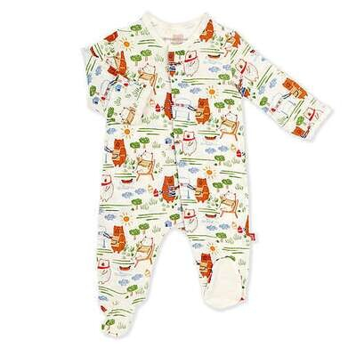 Magnetic Me BBQ Bear Footie - 0-3 months