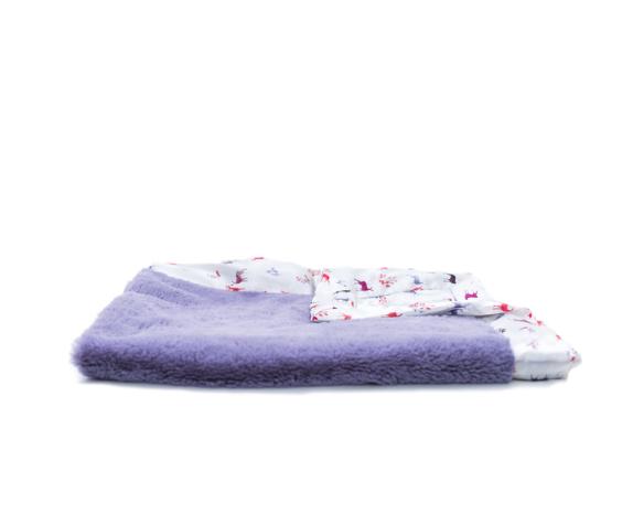 Saranoni Lovie Blanket Patterned Satin Back