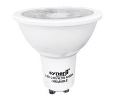 GU10 LED downlighter bulb