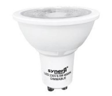Synerji GU10 LED downlighter bulb