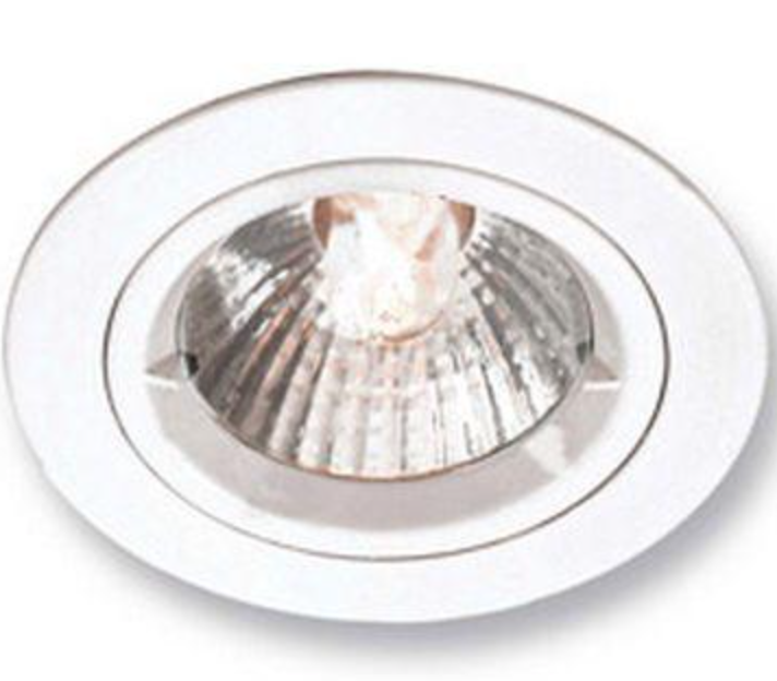 GU 10 downlighter fitting (SCREW in type) - bulb not included
