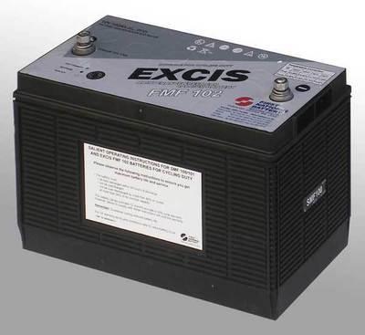 SMF100 102AH 12Volt Silver Calcium Deep Cycle Battery (each ex. VAT)