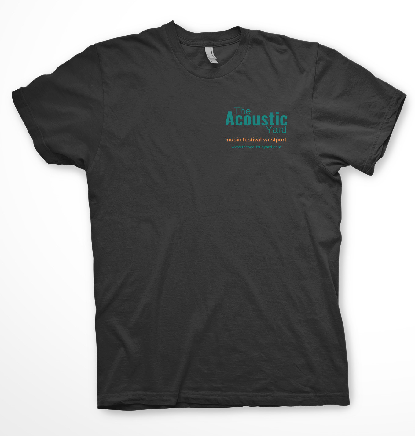The Acoustic Yard Music Festival T-Shirt Large
