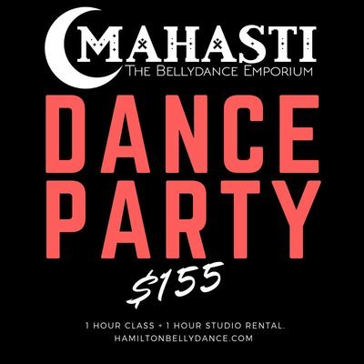 BELLYDANCE PARTY AT MAHASTI