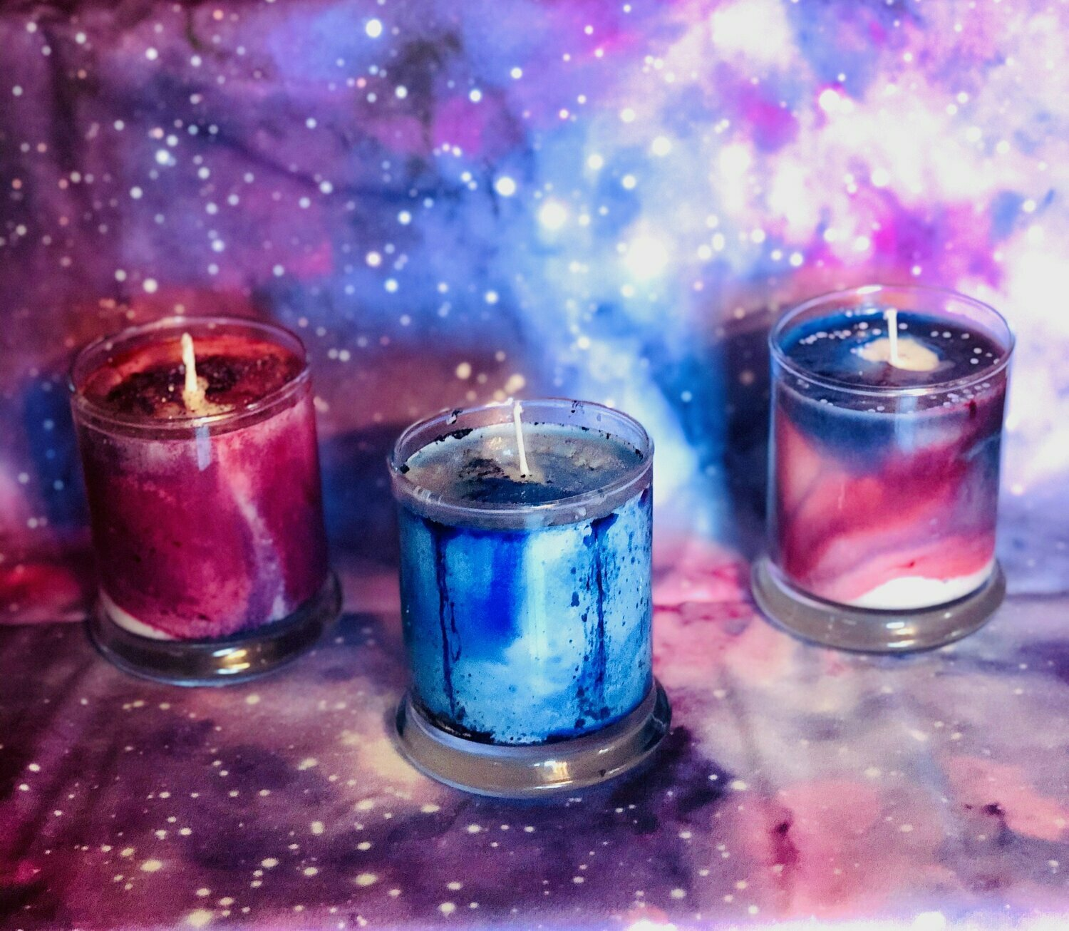 Galaxy Candle Collection