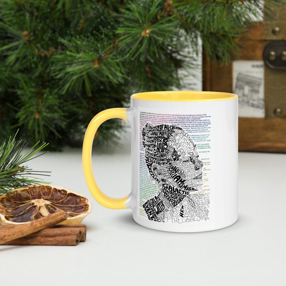 Mother Gods Divine Decrees Colored Mug