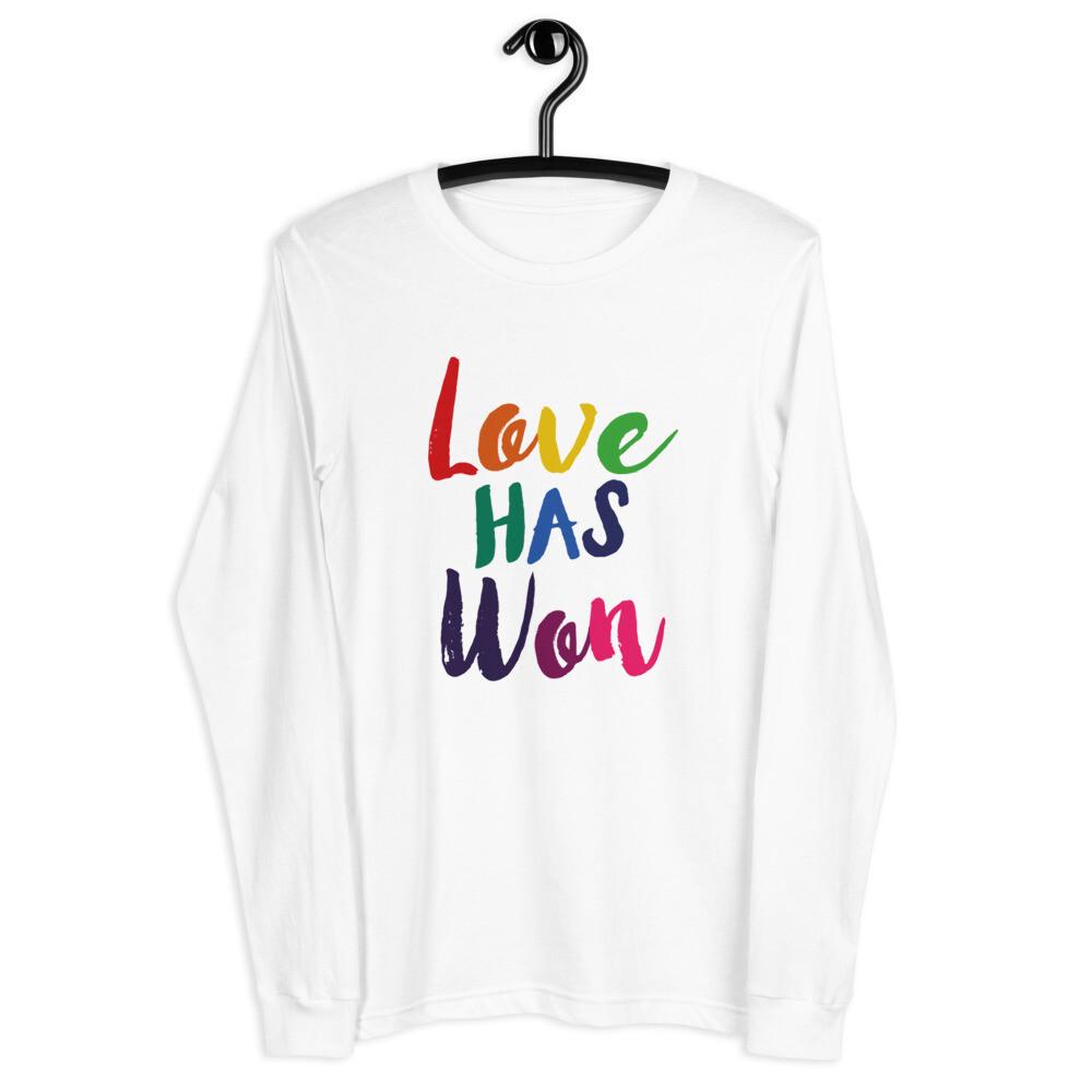Rainbow Love Has Won Logo
