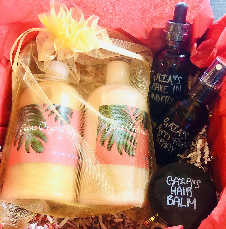 Gaia's Custom Hair Care Kit