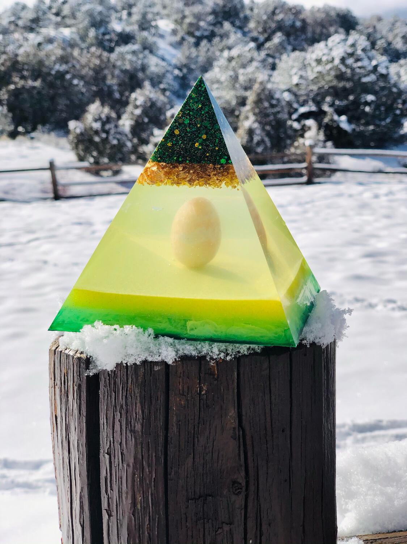 Custom Crystal Pyramid