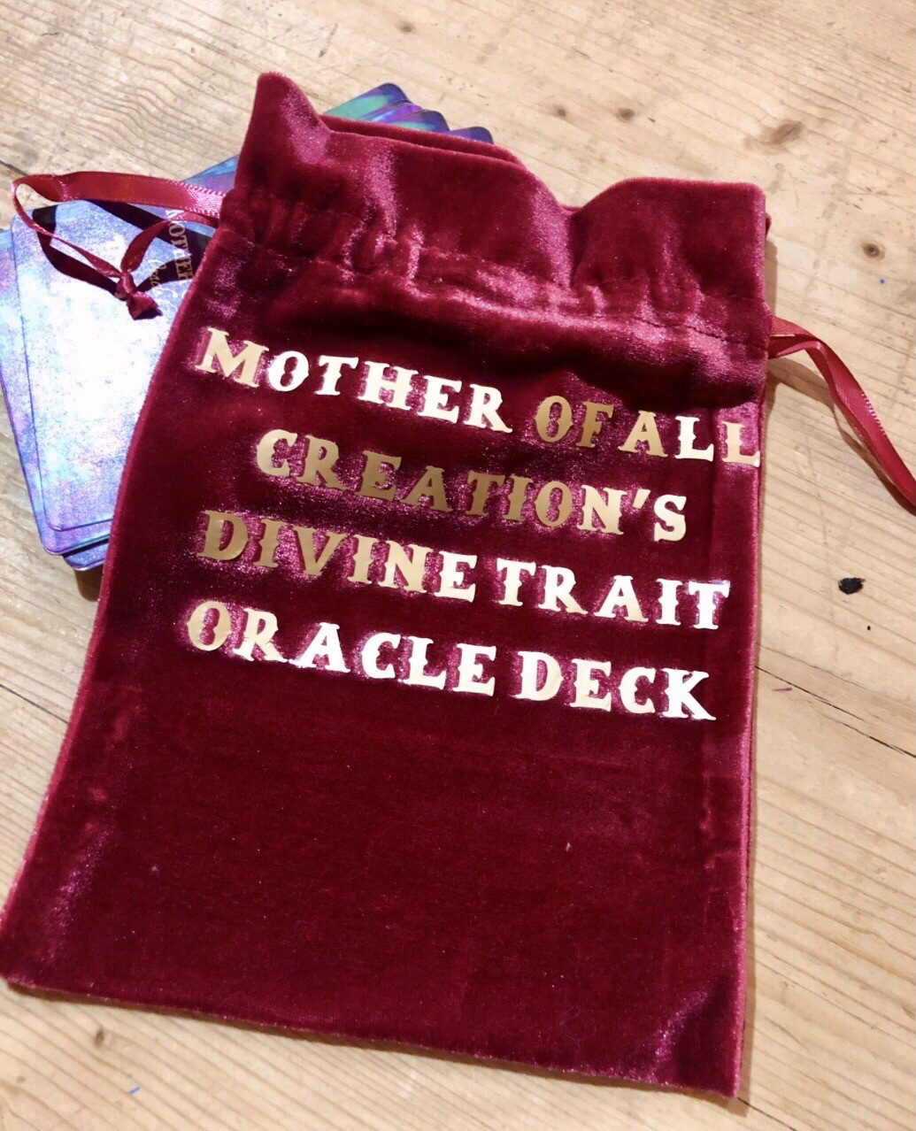 Divine Traits Tarot Deck Pouch